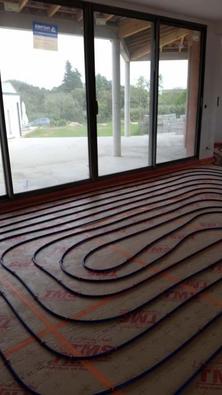 installation de plancher chauffant sur castries montpellier 34. Black Bedroom Furniture Sets. Home Design Ideas