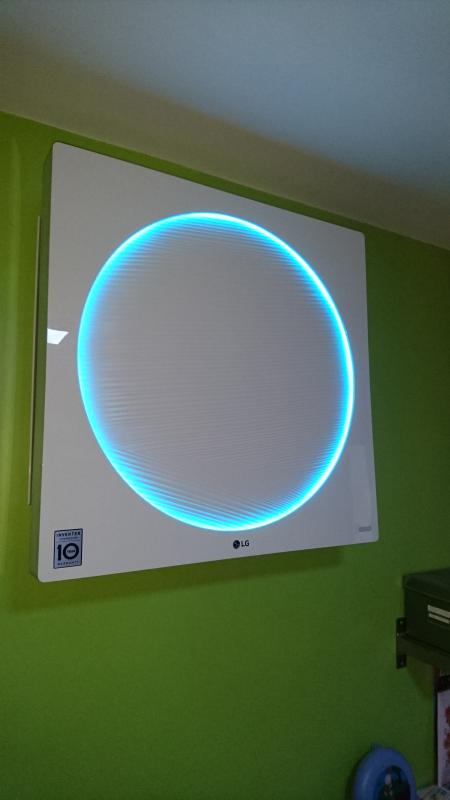 LG artcool Panel Lighting laverune